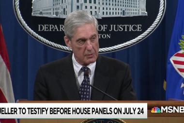 Nation braces for Robert Mueller's appearance in Congress