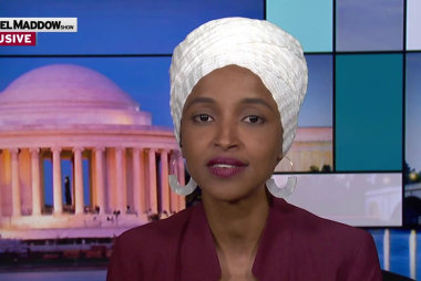 Omar cites corruption, ineptitude among reasons to impeach Trump
