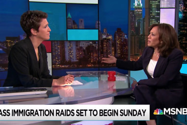 Harris: Trump abuse of ICE raids undermines trust of local law