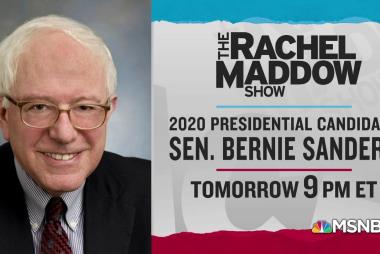 Bernie Sanders Wednesday, Kamala Harris Thursday this week!