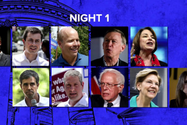 Lineup announced for second Democratic presidential debate