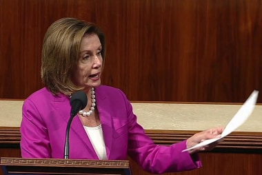 House votes against motion to strike Pelosi's comments after she calls Trump's tweets 'racist'