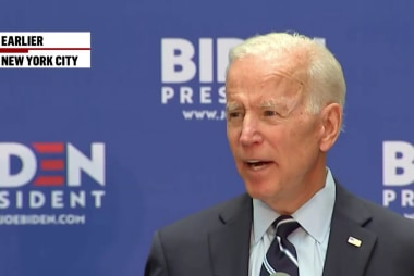 Biden takes on the 'Trump Doctrine'