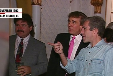 Footage of Trump partying with Epstein surfaces