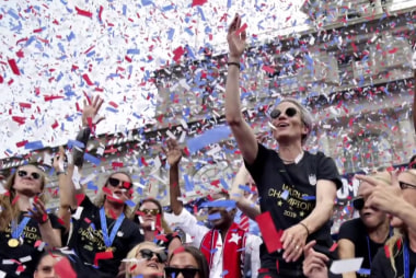 Megan Rapinoe filling the leadership void
