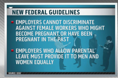 New federal guidelines for paternity leave