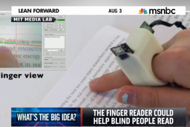 A device that could help the blind read