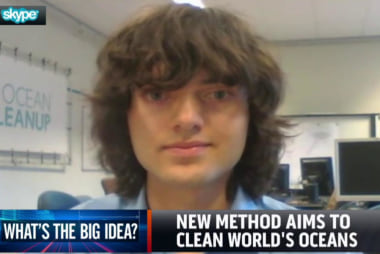 New method aims to clean world's oceans