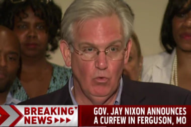 Mo. governor announces new Ferguson curfew