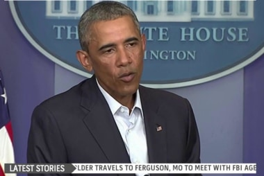 Assessing Obama's response to Ferguson