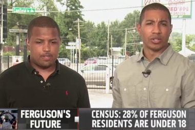 Ferguson residents process the last two weeks