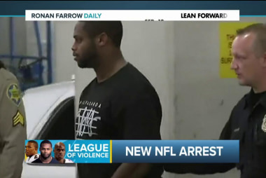 Seriously NFL? Another day, another arrest
