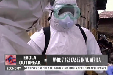 Officials battle Ebola outbreak in Liberia