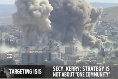 US on the defense about anti-ISIS strategy