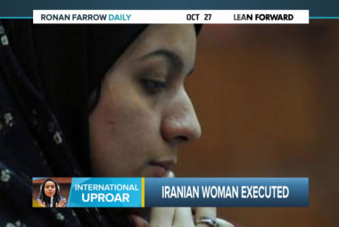 The execution of Reyhaneh Jabbari