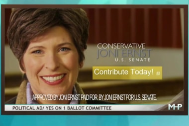 Why Joni Ernst isn't winning over Iowa women