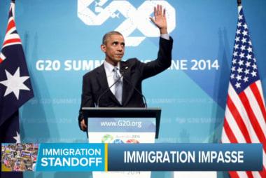Immigration standoff