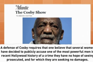 Why we turned blind eye to Cosby allegtions