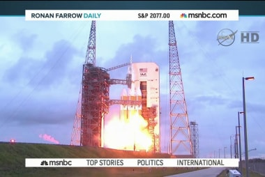 Liftoff! NASA's Orion launch a success!