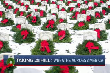 The story behind Wreaths Across America