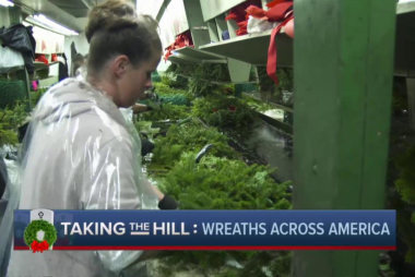 What it takes to make over 700,000 wreaths