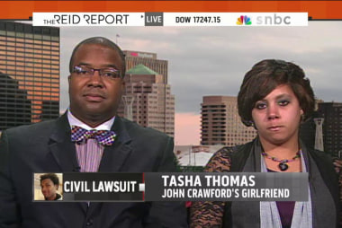 John Crawford's girlfriend speaks out