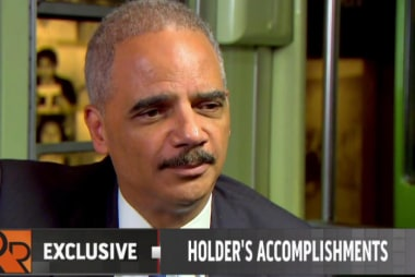 Holder on his relationship with Congress
