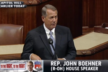 What is Boehner's endgame?