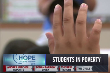 Majority of students struggling with poverty