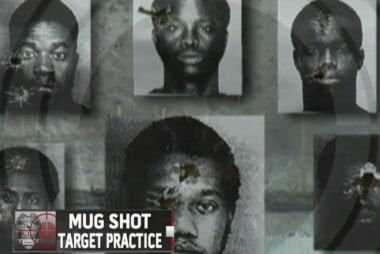 Police target practice stirs controversy