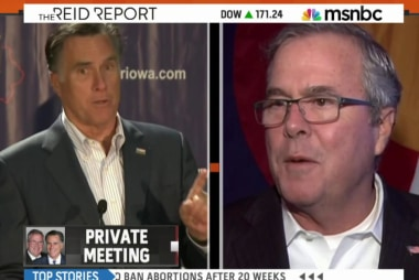 Jeb Bush and Mitt Romney to meet