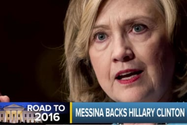 Jim Messina backs Hillary Clinton for 2016