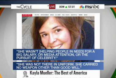 Kayla Mueller, the person