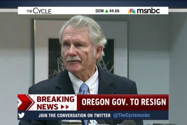 Oregon Governor Kitzhaber to resign