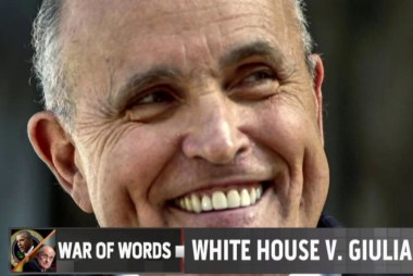 Pres. Obama and Giuliani's war of words