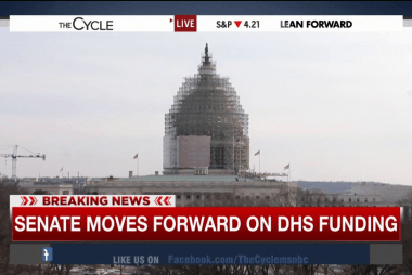 Senate moves forward on DHS funding