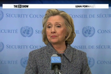 Clinton's bold response to emails, Iran...