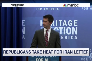 Senate GOP letter to Iran sparks outrage