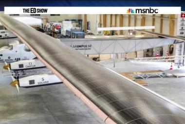 Solar plane plans to circle globe
