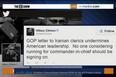 GOP letter distraction from real negotiations