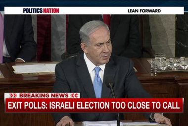 Netanyahu takes a hard political right