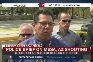Police: 6 shot, 1 dead in Mesa, AZ shooting