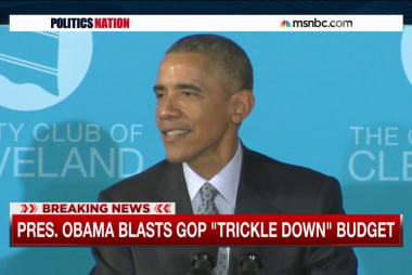 Pres. Obama slams GOP's spending slash