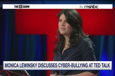 Lewinsky stands up to cyberbullying