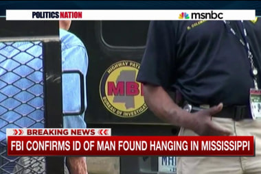 FBI confirms ID of man found hanging in MS
