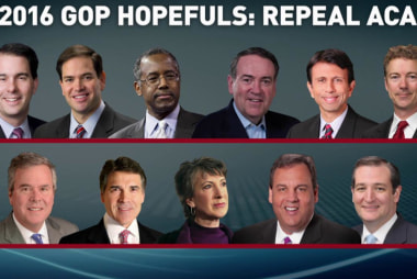 GOP's 2016 lineup still want repeal of...