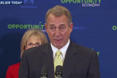 Boehner baffled over WSJ accusations
