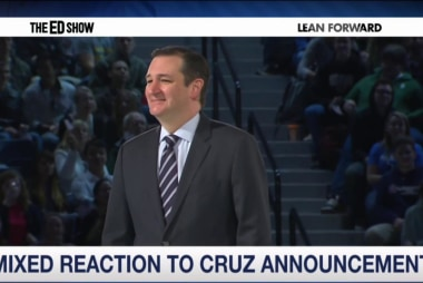 Cruz publicity machine in full-force