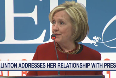 Clinton: 'No more secrecy'