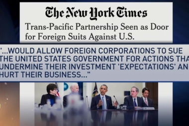 Leaked TPP documents highlight dangers